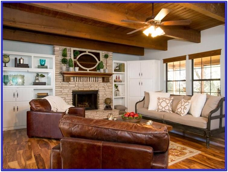 Joanna Gaines Country Farmhouse Living Room Ideas