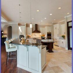 Kitchen And Living Room Floor Transiton Ideas