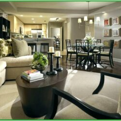 L Shaped Living Room Dining Room Decorating Ideas