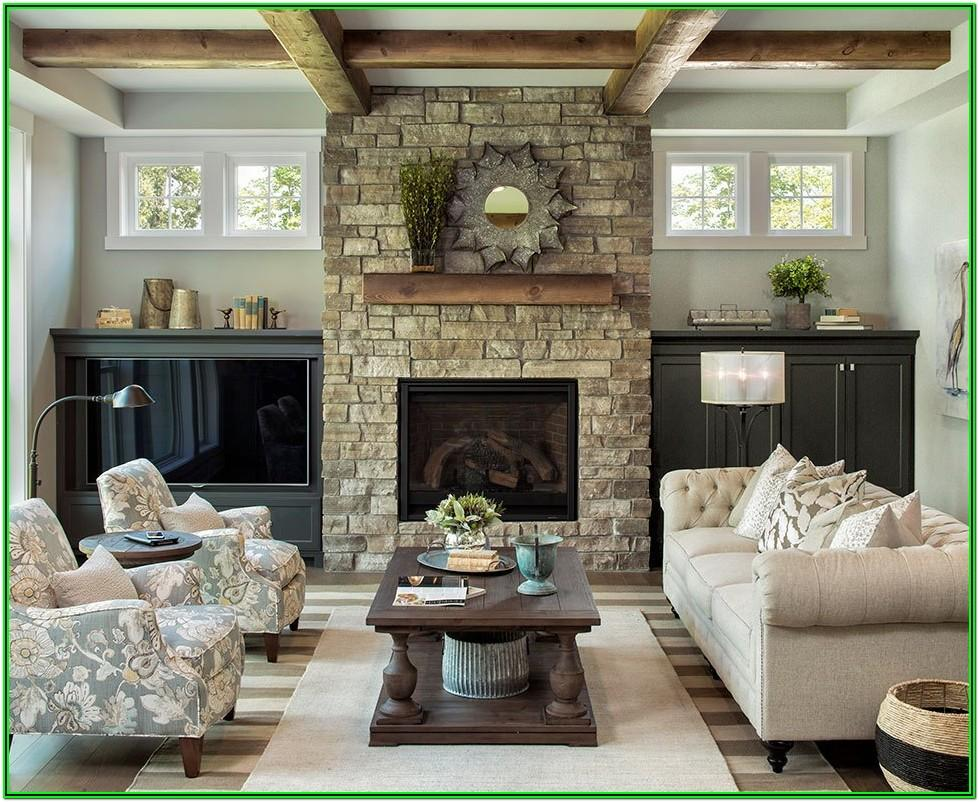 Lake Side Living Rooms Ideas