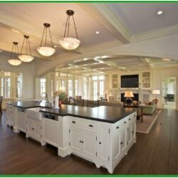 Large Kitchen Living Room Ideas