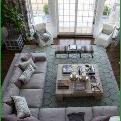 Large Living Room Furniture Layout Ideas