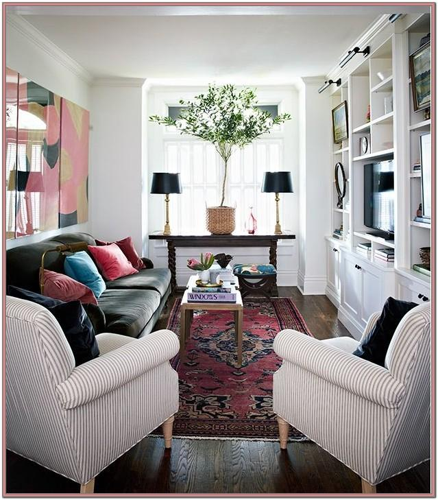 Large Narrow Living Room Ideas