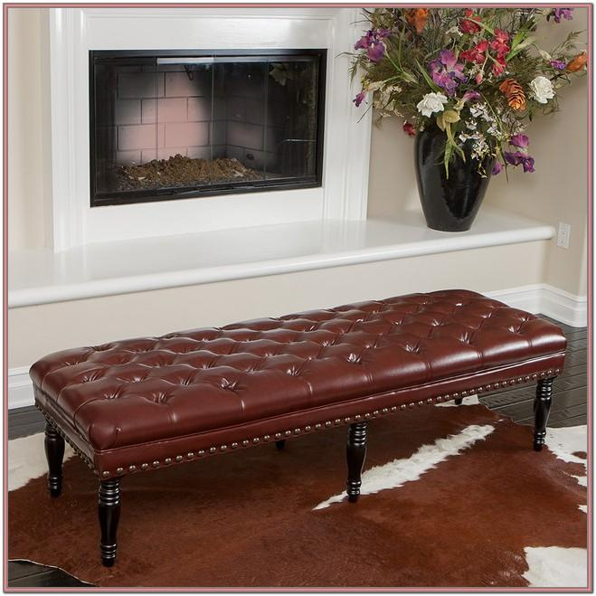 Leather Living Room Bench Ideas