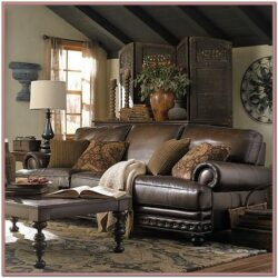 Leather Living Room Ideas Pinterest