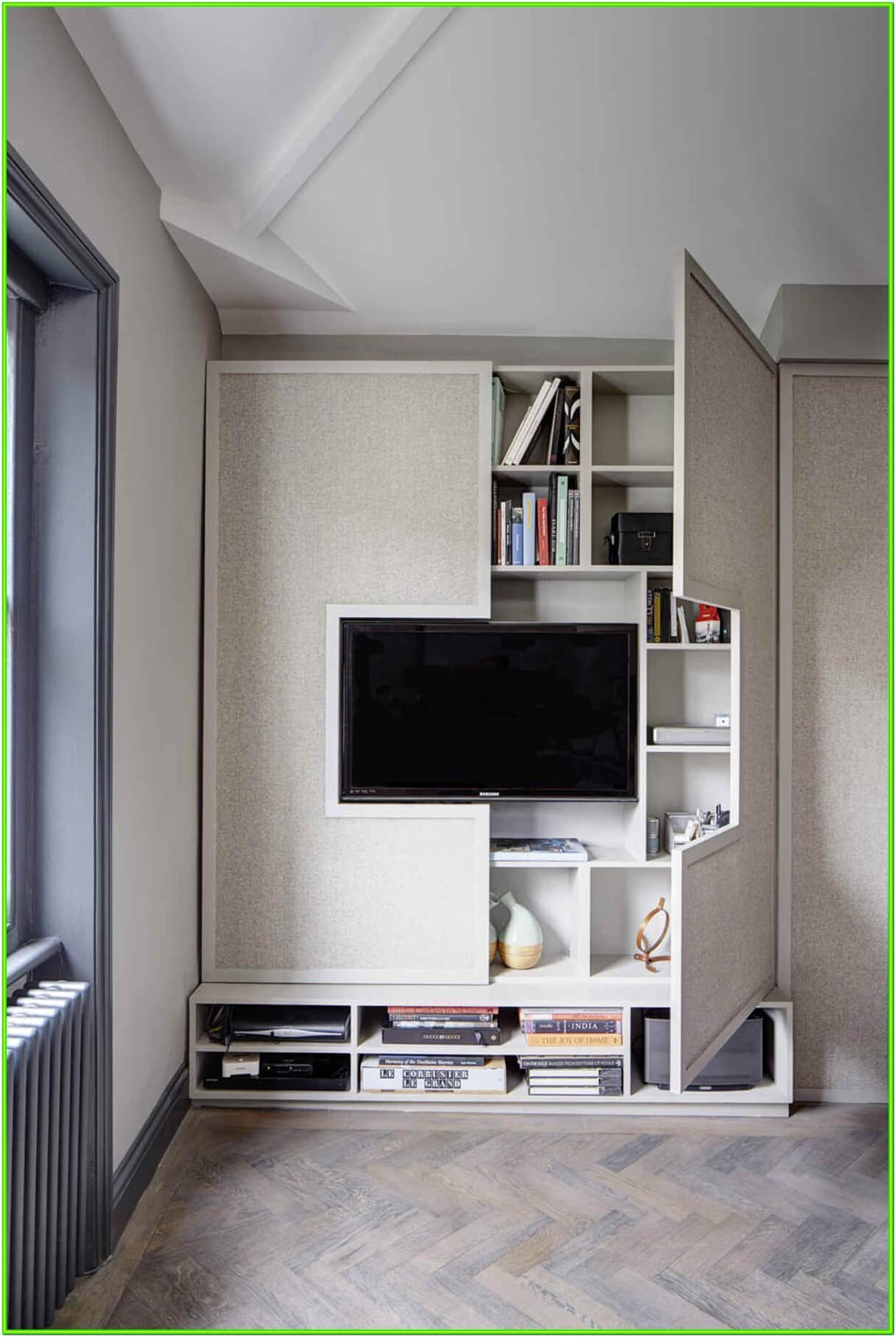 Living Room Built In Storage Ideas