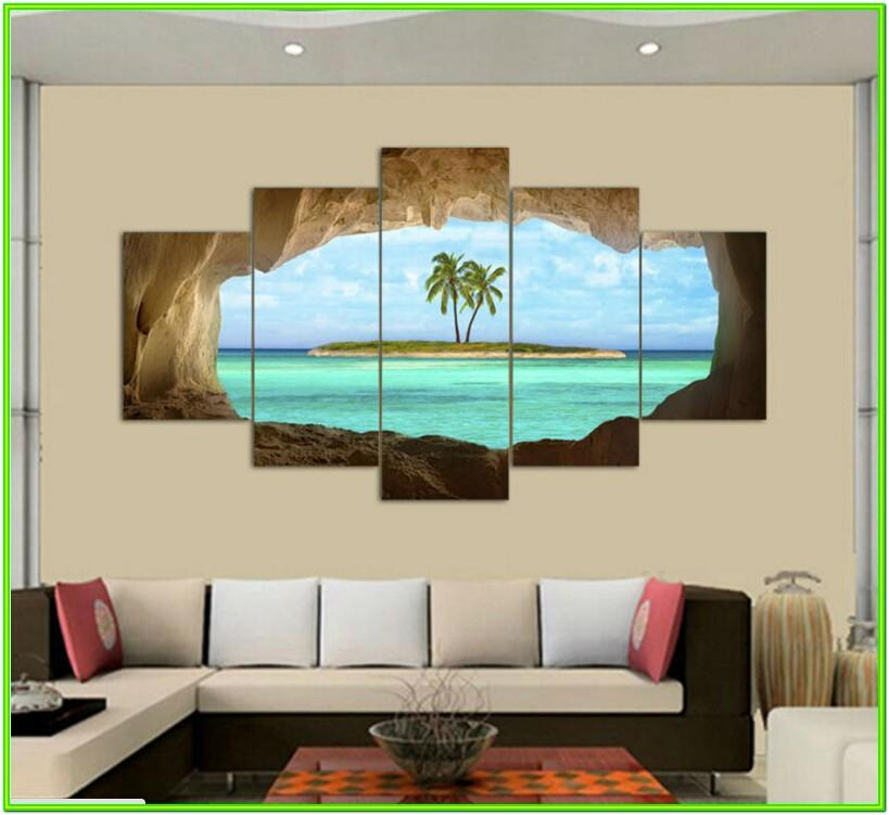 Living Room Canvas Painting Ideas