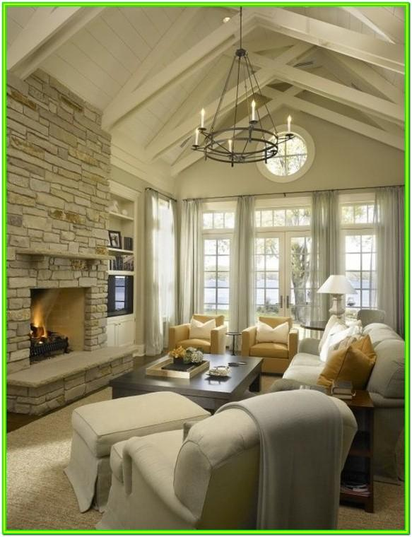 living room chandelier ideas vaulted ceiling