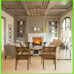 Living Room Classic House Ideas