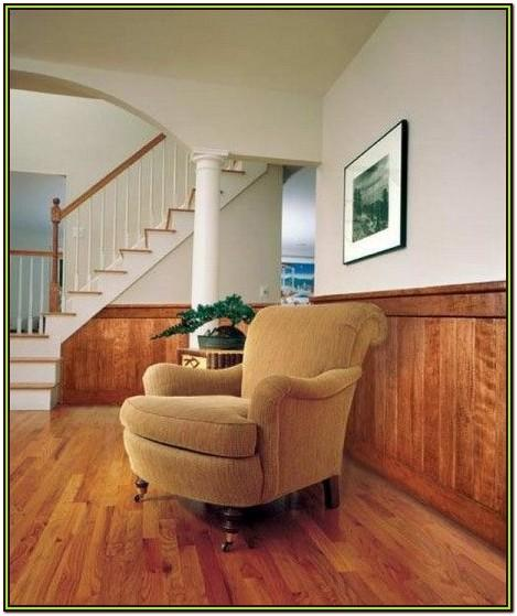 Living Room Half Wall Paneling Ideas