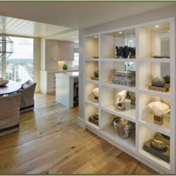 Living Room Half Wall Room Divider Ideas