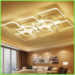 Living Room Led Ceiling Light Design Ideas