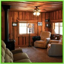 Small Log Cabin Living Room Ideas