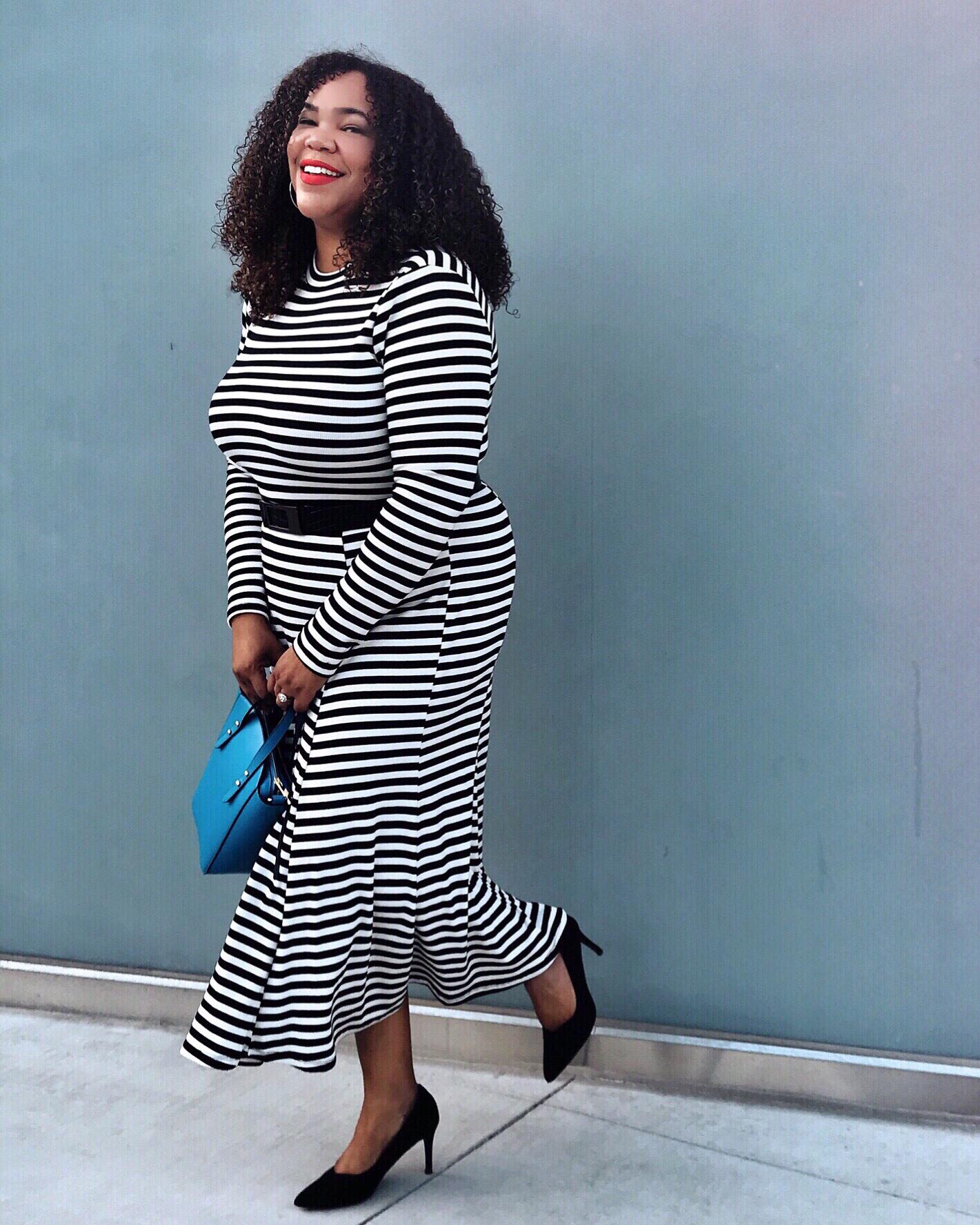 Who_What_Wear_Striped_Dress