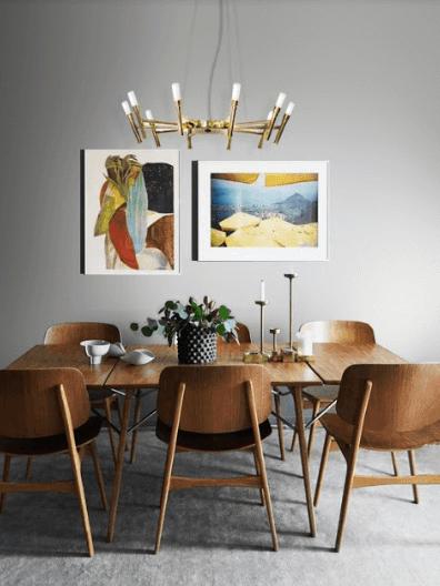 lustre para sala de jantar