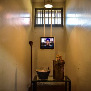 Exhibits Donated By Ex-Prisoners On Display In The Isolation Cells Of The Woman's Jail, With Videos Of Them Sharing Their Experiences Of Being Imprisoned. Photo Courtesy Of Constitution Hill.