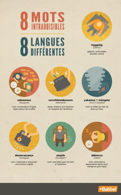 8 mots intraduisibles dans 8 langues différentes