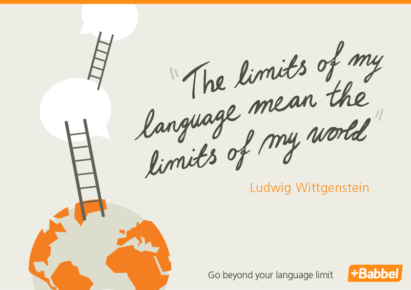 language quote Ludwig Wittgenstein