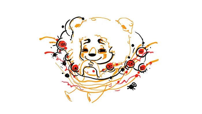 illustration of happy person by Graciela Goncalves Da Silva