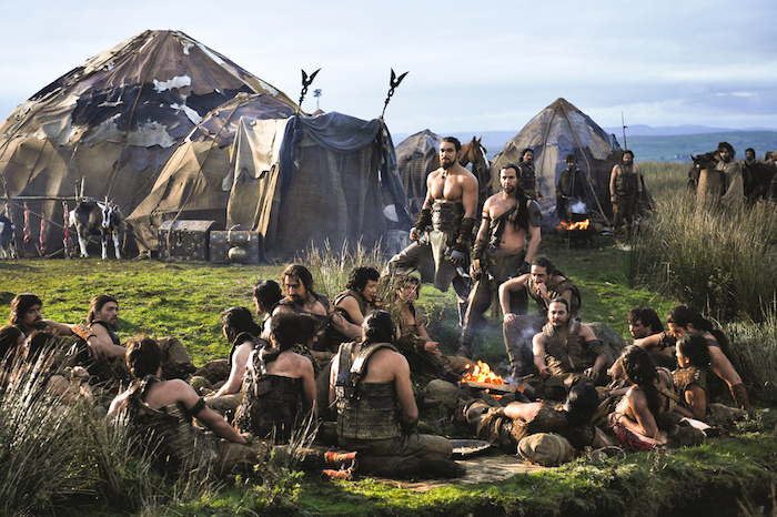 A tribe of Dothraki
