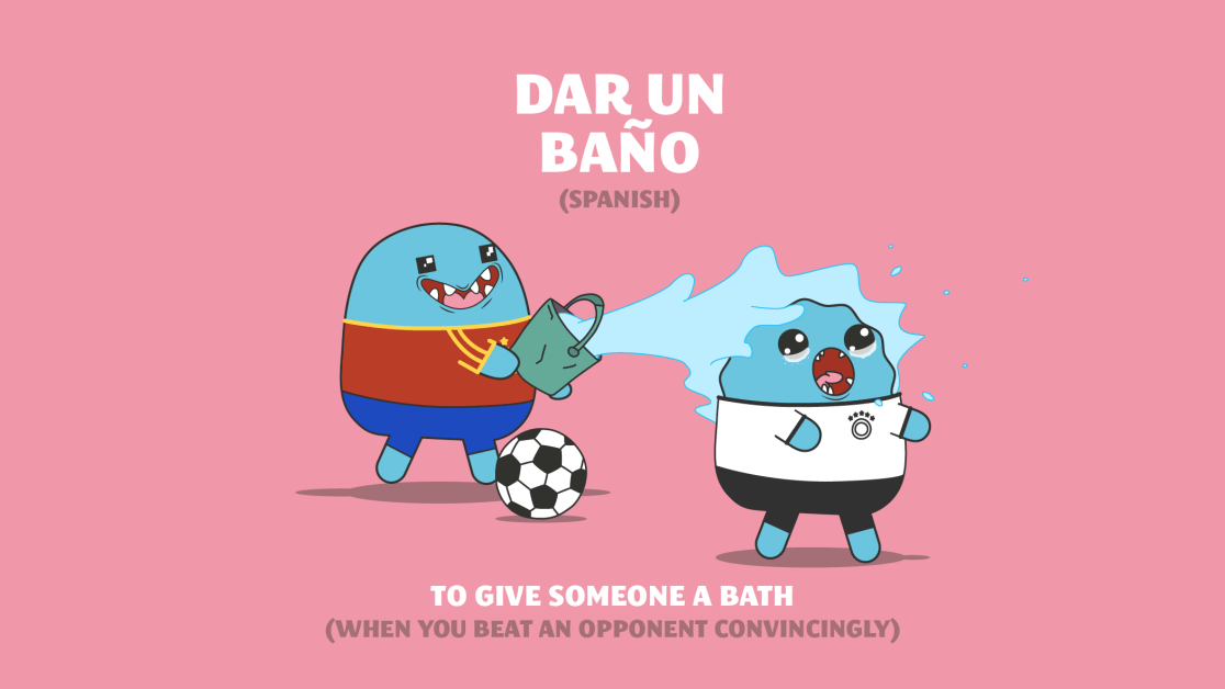 spanish football idiom