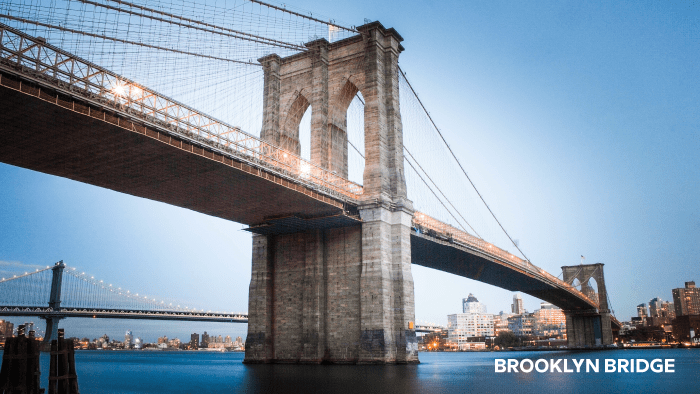 things to see and do in new york city brooklyn bridge