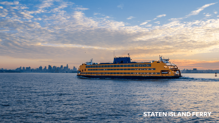 things to see and do in new york city ferry