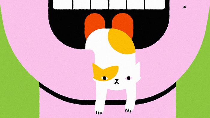 Découvrez l'expression japonaise langue de chat