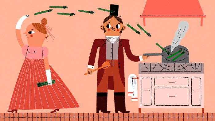 Va frire des asperges, un des gros mots espagnols les plus imagés