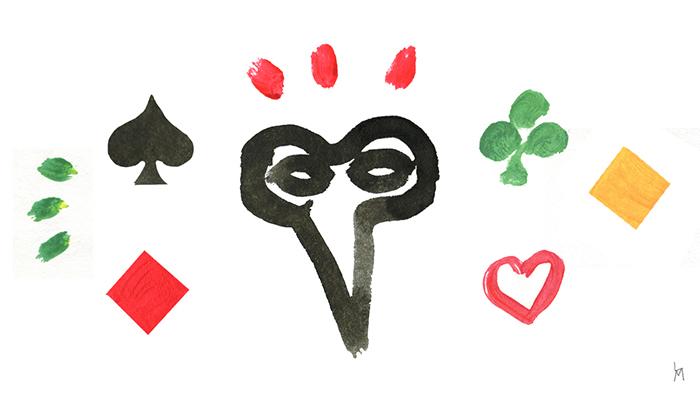 """Une illustration par les cartes du mot patois """"frouiller"""""""