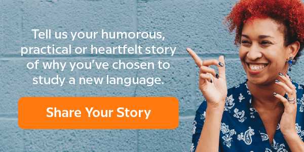 Share your language learning story with Babbel