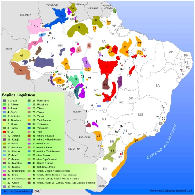Indigenous languages in Brazil