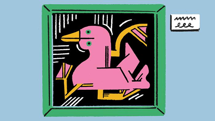 Ça ne casse pas trois pattes à un canard. – Illustration