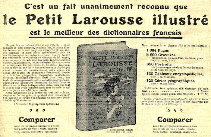 Le Petit Larousse est mis à jour chaque année depuis 1906