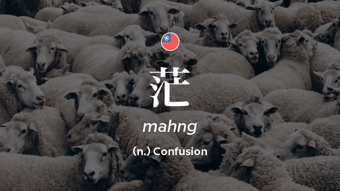 2017 Words Of The Year — 茫