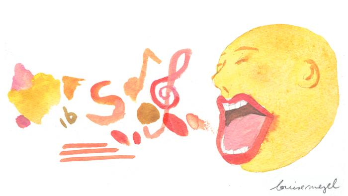 La langue fonctionne comme un instrument à vent