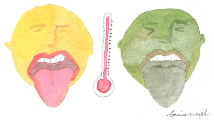 La langue est un indicateur de bonne santé