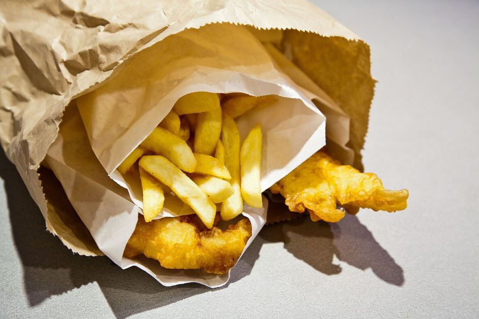 British Culture — Fish And Chips