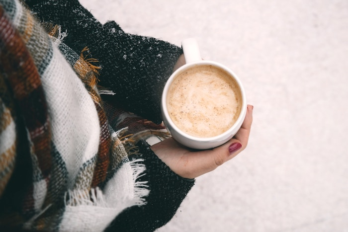 Le rhum chaud est idéal par grand froid