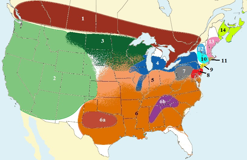 North American Dialect Map — Californian Accent