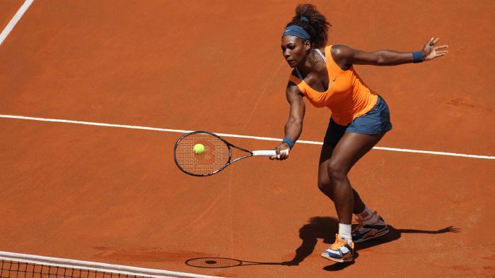 Serena Williams bilingual athletes