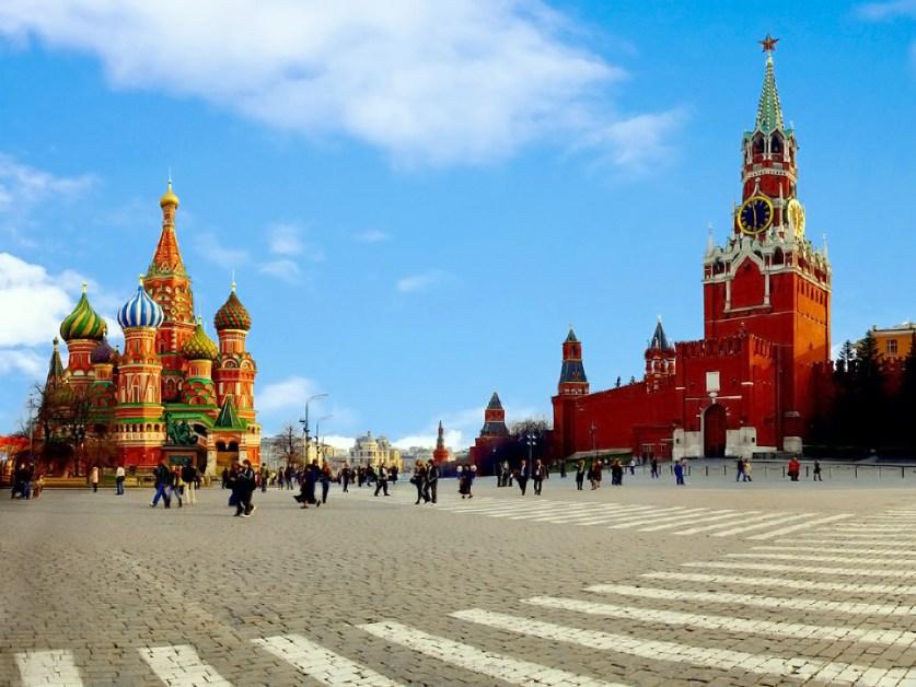 La Place Rouge est la plus belle place de Moscou