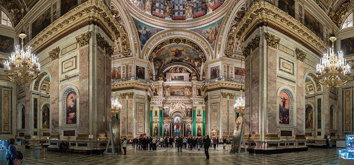 Découvrez la richesse de la Cathédrale Saint Isaac | Babbel