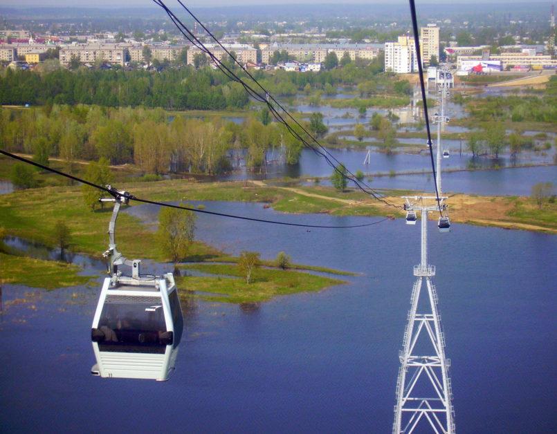 Le téléphérique de Nijni Novgorod