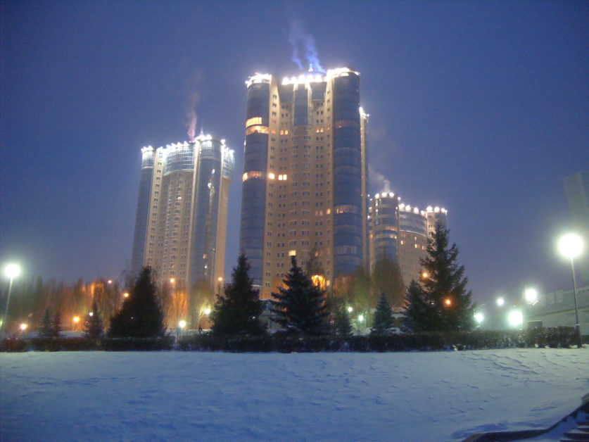 Samara, en hiver