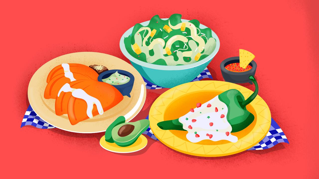Las mejores recetas mexicanas