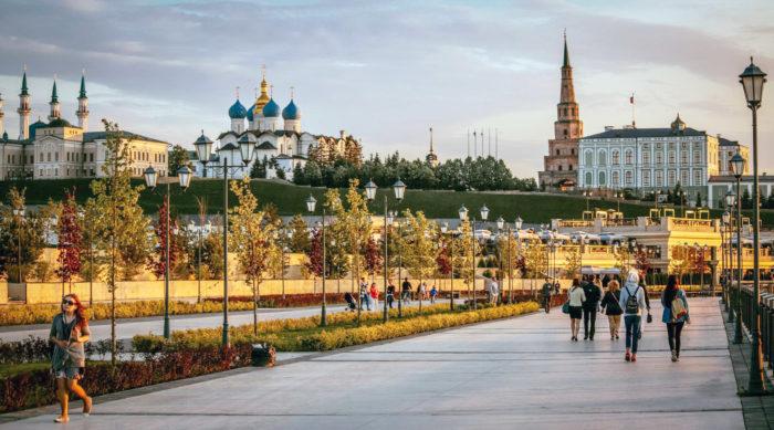 Prenez le temps de vous promener dans Kazan