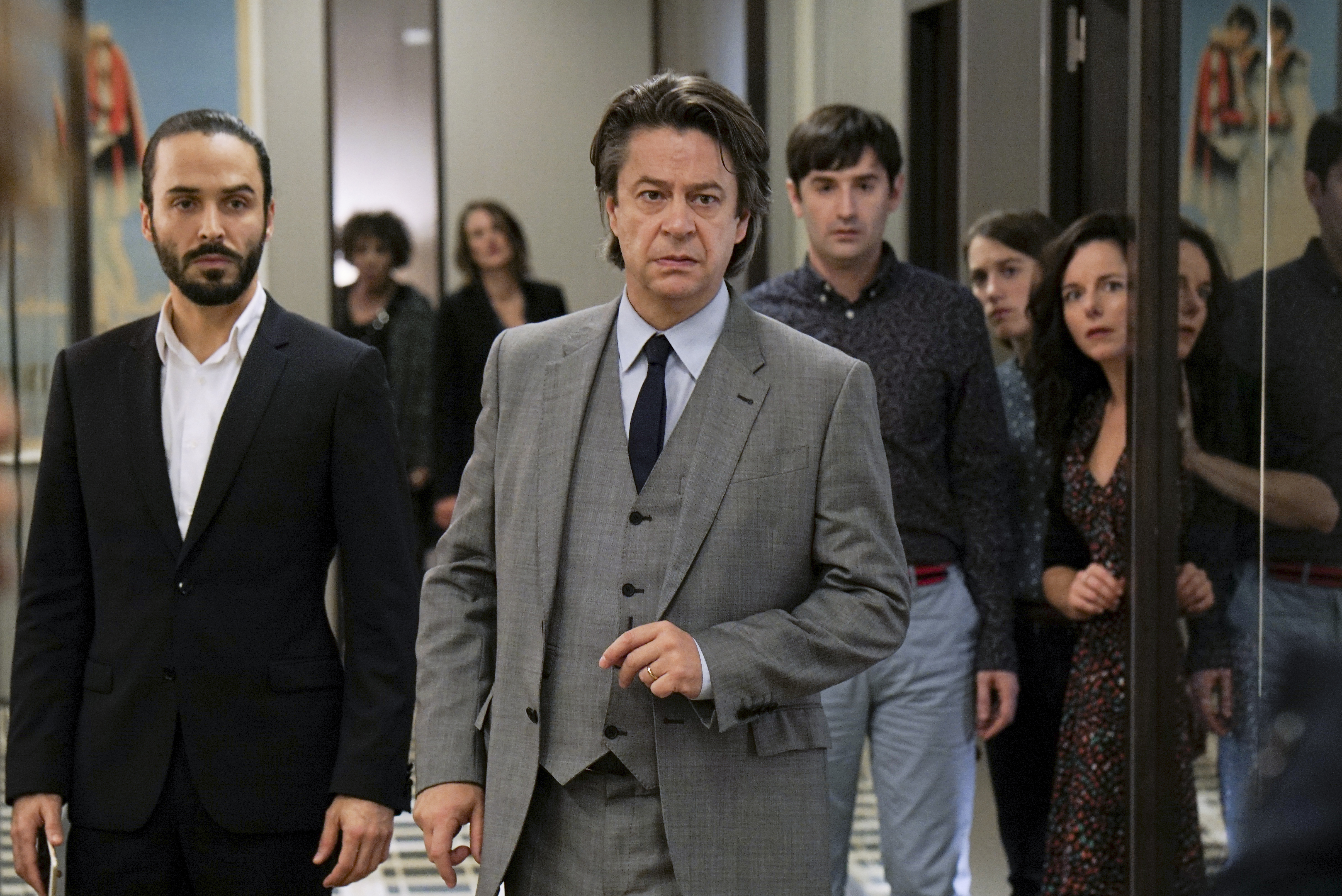 French TV shows call my agent