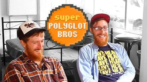 Dois irmãos gêmeos e mais de vinte idiomas: apresentando os Irmãos Superpoliglotas!