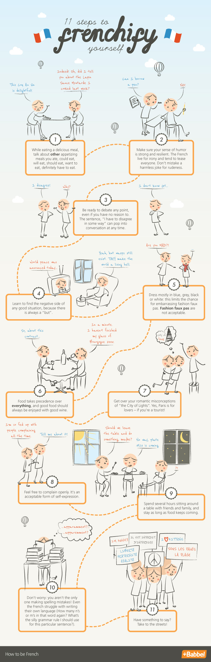 11 Steps To Frenchify Yourself